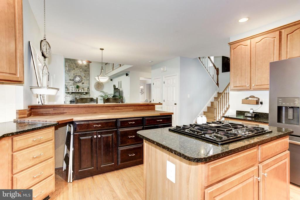 Open Kitchen - Great for Entertaining - 26048 IVERSON DR, CHANTILLY