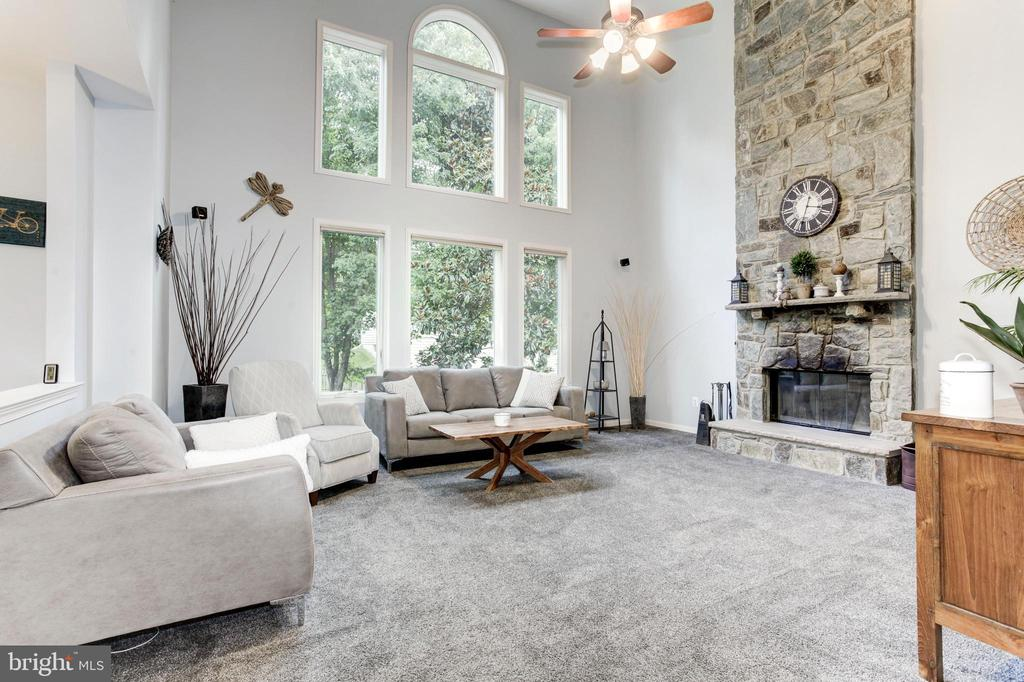Sun-Filled Family Room - 26048 IVERSON DR, CHANTILLY