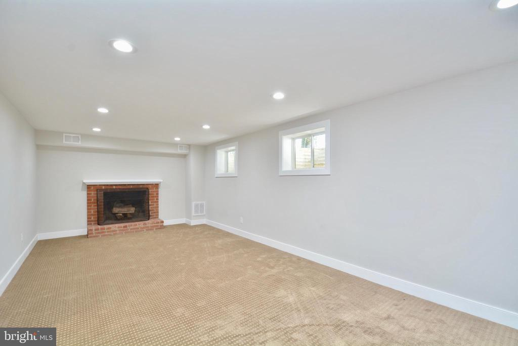 Lower Level Recreation Room - 7416 LEIGHTON DR, FALLS CHURCH