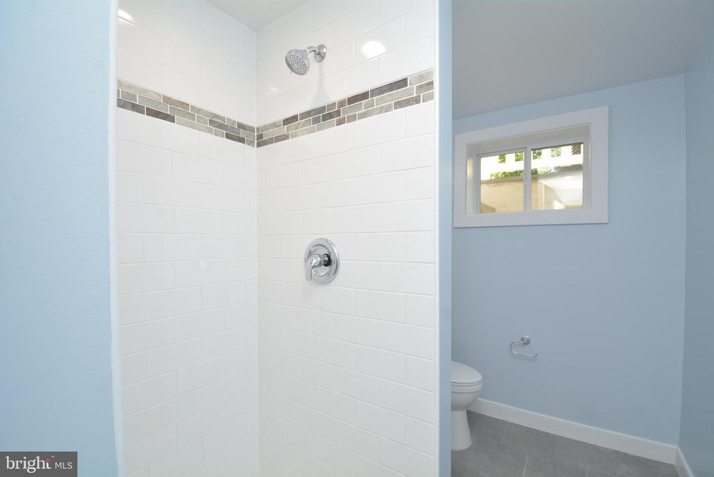 2nd Lower Level Full Bathroom - 7416 LEIGHTON DR, FALLS CHURCH