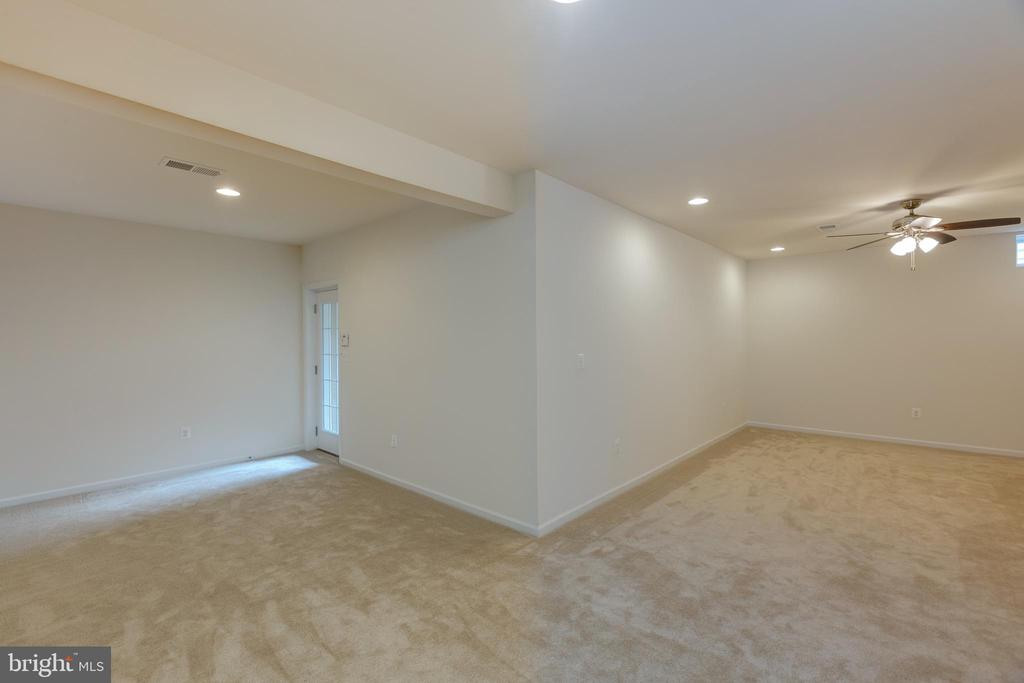Basement rec room with walk up basement - 43172 ASHLEY HEIGHTS CIR, ASHBURN