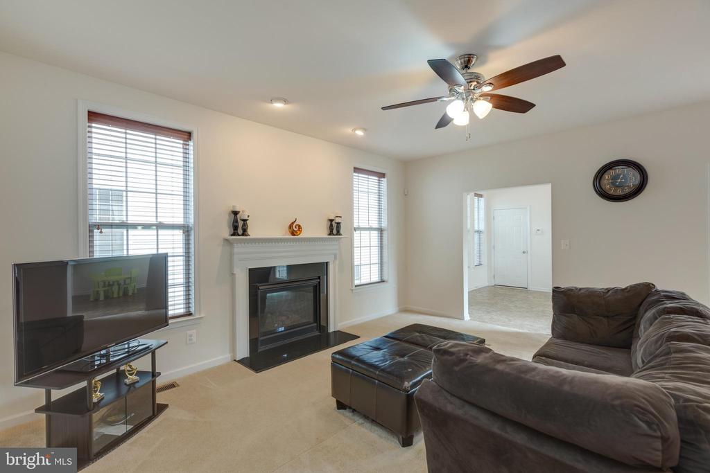 Family room - 43172 ASHLEY HEIGHTS CIR, ASHBURN