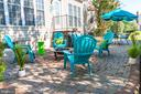 Outdoor living space on the patio - 1302 WANETA CT, ODENTON