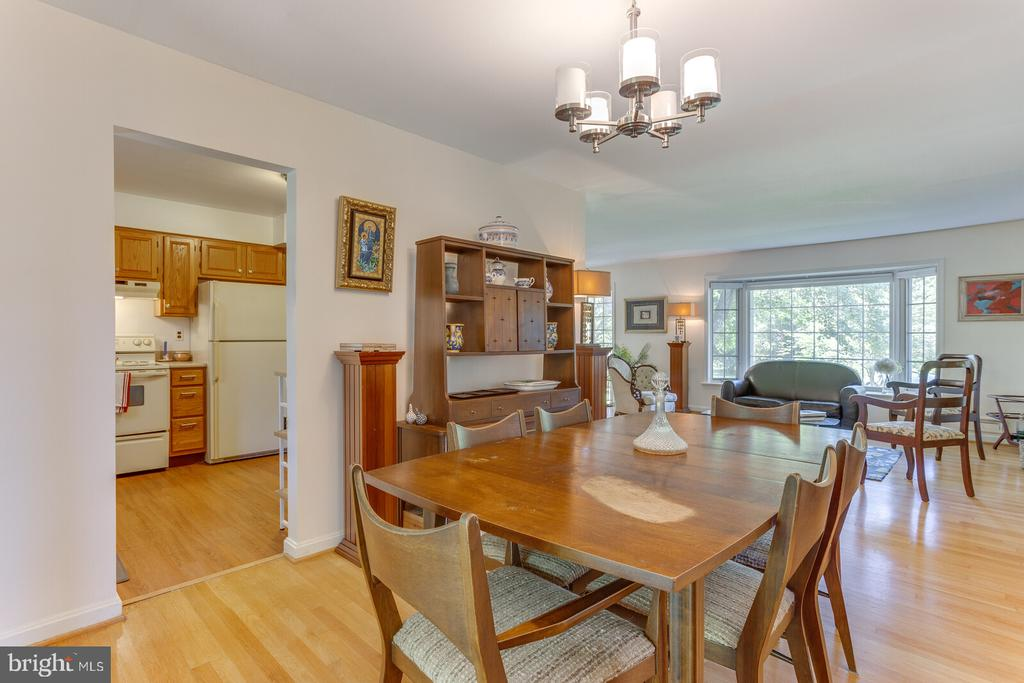 Dining Room to Kitchen and Living Rm - 805 GOLDEN ARROW ST, GREAT FALLS