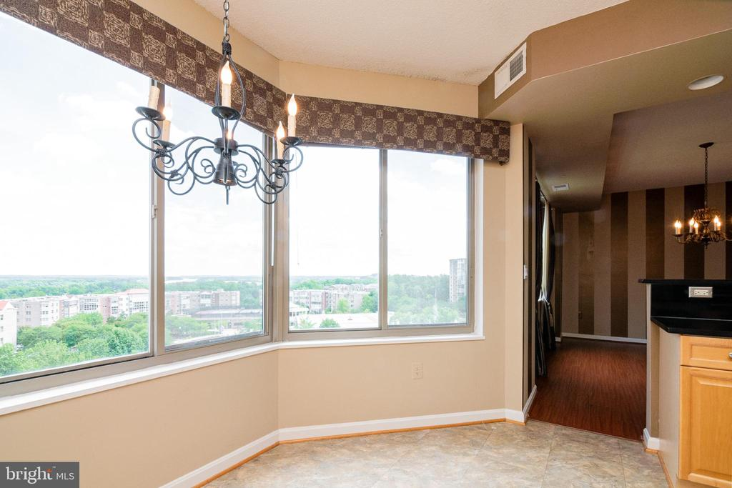 Beautiful views from Eat in Kitchen - 19365 CYPRESS RIDGE TER #417, LEESBURG