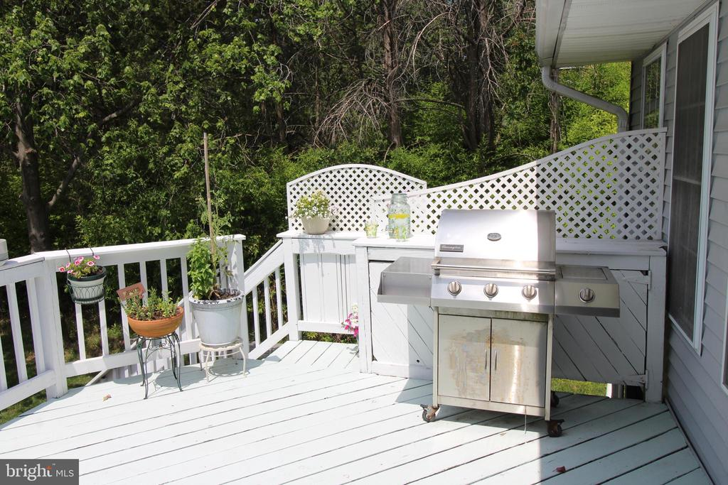 Private and friendly deck - 5678 WATERLOO RD, COLUMBIA
