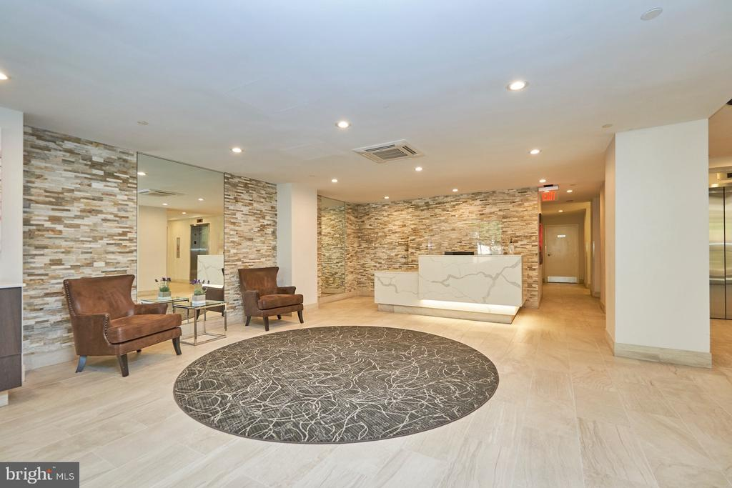 Lobby - 1301 N COURTHOUSE RD #916, ARLINGTON