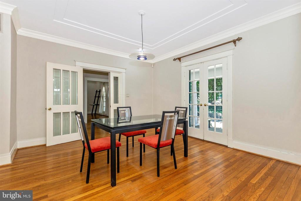 Main home dining - 8931 COLESVILLE RD, SILVER SPRING