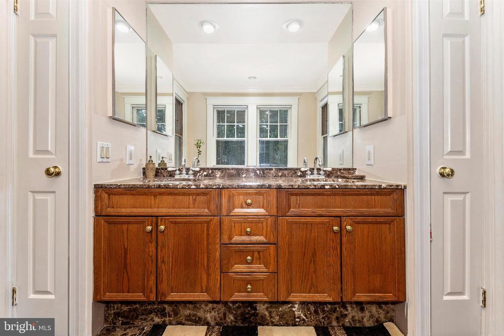 Main home master bath - 8931 COLESVILLE RD, SILVER SPRING