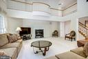 2nd level overlook to Family Room - 11604 TORI GLEN CT, HERNDON