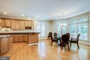 Gracious Eat-In Kitchen/Breakfast Area - 11604 TORI GLEN CT, HERNDON