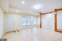 Flex Space/Bonus room in Lower Level - 11604 TORI GLEN CT, HERNDON