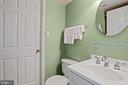Lower level bath w/shower - 848 N FREDERICK ST, ARLINGTON