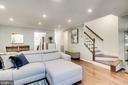 Beautiful Open Floorplan with updated lighting - 624-A N TAZEWELL ST, ARLINGTON