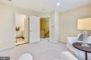 Bedroom #4/Second Master Suite has a sitting room - 20405 EPWORTH CT, GAITHERSBURG