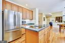 Upgraded stainless steel appliances - 20405 EPWORTH CT, GAITHERSBURG