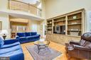 Family room is open to the foyer - 20405 EPWORTH CT, GAITHERSBURG
