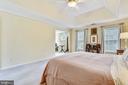 Master bedroom has access to sitting room - 20405 EPWORTH CT, GAITHERSBURG