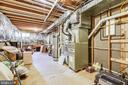 Large storage and utility room - 20405 EPWORTH CT, GAITHERSBURG