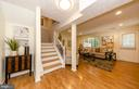 Walk out lower level... - 2033 BROOKS SQUARE PL, FALLS CHURCH