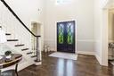 Rich hardwood floors - 18692 RIVERLOOK CT, LEESBURG