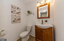 Main level powder room for your guests - 2033 BROOKS SQUARE PL, FALLS CHURCH
