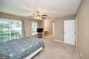 Master Bedroom with slider window - 1221 LAKEVIEW PKWY, LOCUST GROVE
