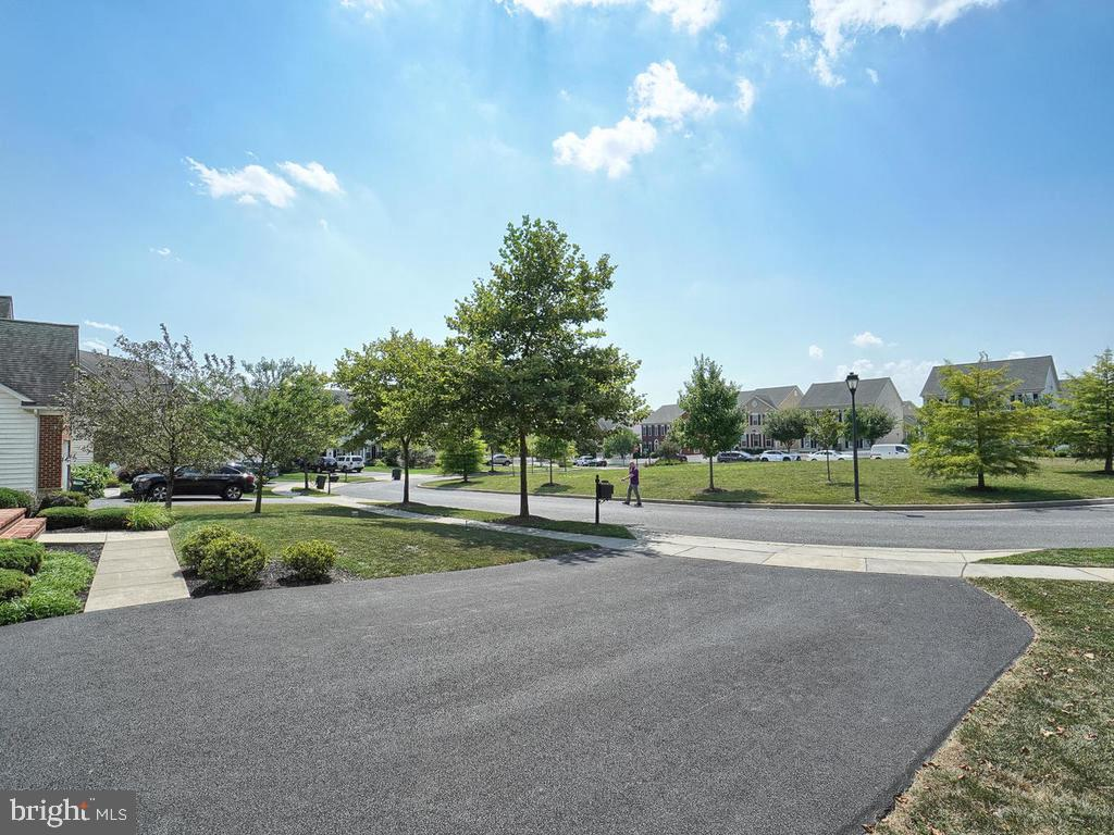 Situated on  a quiet street facing a green space! - 9509 TOTTENHAM CIR, FREDERICK