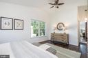 Owner's bedroom w/ newly refinished hardwood - 3506 7TH ST N, ARLINGTON