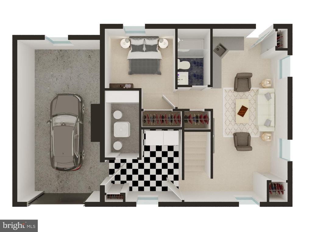 Lower Level Floor Plan - 3506 7TH ST N, ARLINGTON