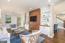 Exposed brick and charming built ins - 3506 7TH ST N, ARLINGTON