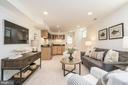 In-law suite w kitchenette & separate entrance - 3506 7TH ST N, ARLINGTON