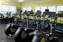 Community work-out room. - 9509 TOTTENHAM CIR, FREDERICK