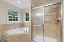 master bath - 7304 BACKLICK RD, SPRINGFIELD