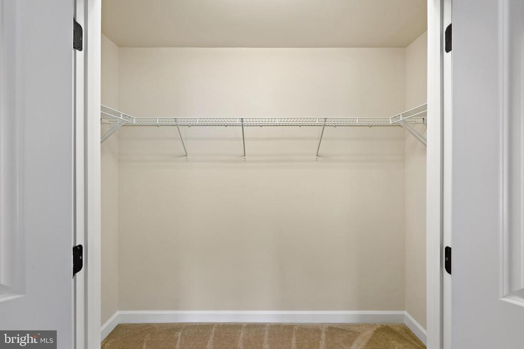 master #2 walk-in closet - 7304 BACKLICK RD, SPRINGFIELD