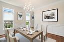 VS dining room - 7304 BACKLICK RD, SPRINGFIELD