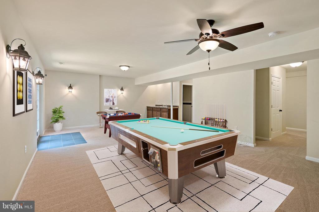 VS recreation room - 7304 BACKLICK RD, SPRINGFIELD