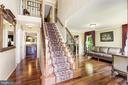 Amazing hardwood floors - 13915 MARBLESTONE DR, CLIFTON