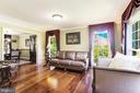 Living room - 13915 MARBLESTONE DR, CLIFTON