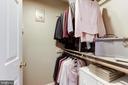 Amazing walk in closet - 13915 MARBLESTONE DR, CLIFTON