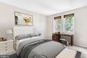 Virtually Staged Main Bedroom - 1911 KEY BLVD #11563, ARLINGTON
