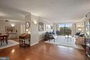 Magnificent Living Room of Condo 1106 - 1800 OLD MEADOW RD #1106, MCLEAN