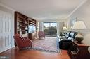 Relax in the GREAT ROOM opening to Balcony - 1800 OLD MEADOW RD #1106, MCLEAN