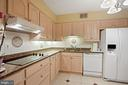 Updated Gourmet kitchen with updated appliances - 1800 OLD MEADOW RD #1106, MCLEAN