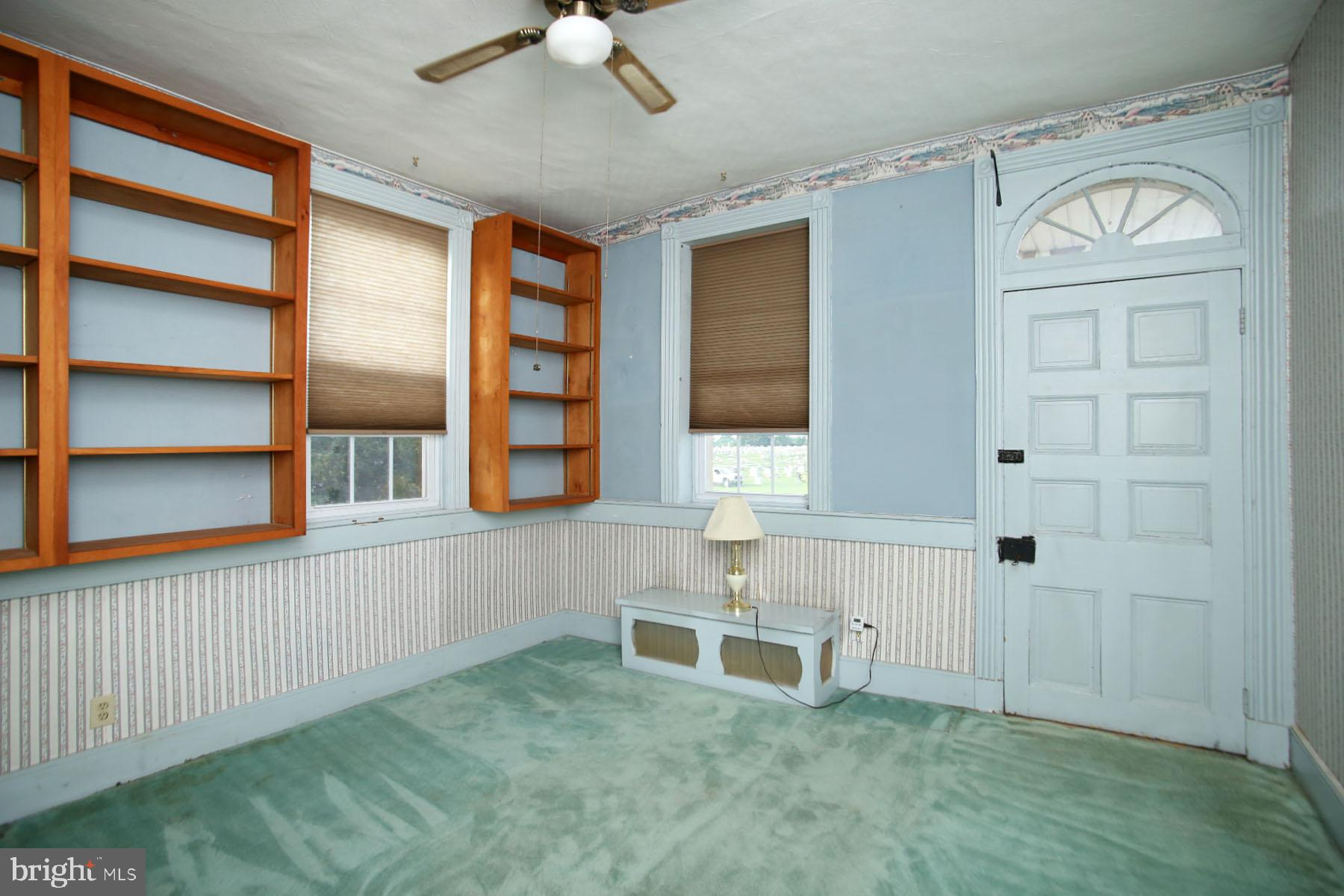 Built in Bookcases in Living Room