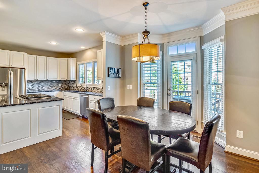 KITCHEN AND BREAKFAST - 6444 ROCK HOLLOW LN, CLIFTON