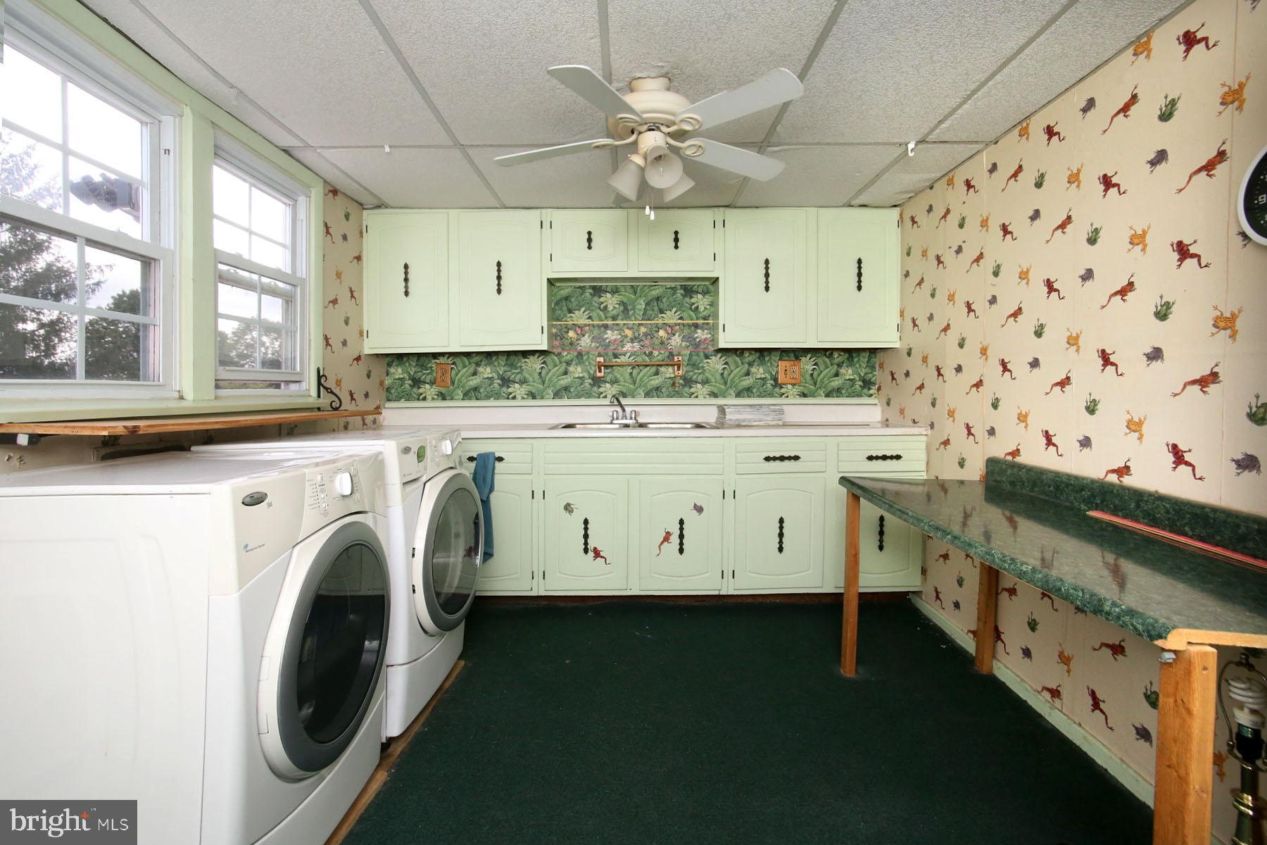 2nd Floor Laundry with Kitchen