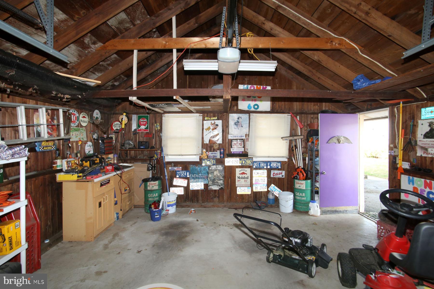 Garage includes Door Opener