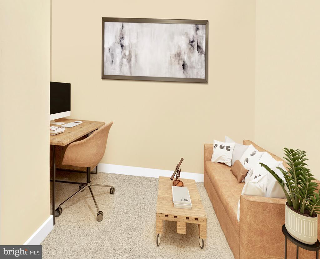 1BR+Den perfect for home office and guest room - 888 N QUINCY ST #1506, ARLINGTON