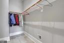Mudroom closet - 6811 CLIFTON RD, CLIFTON